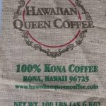 100% Kona Coffee Sack